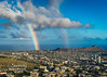 Double Bow - Diamond Head Crator