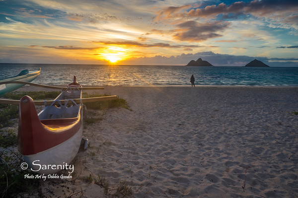 Twin Island Sunrise - Lanikai Beach, Oahu, HI