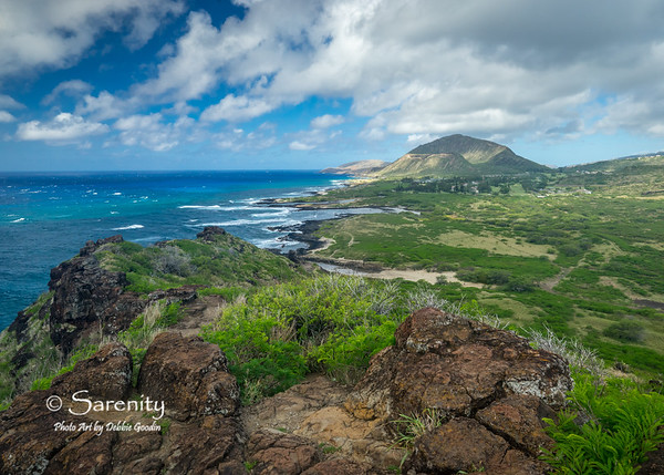Volcanic Shoreline - Koko Head Crater