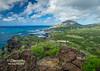 Volcanic Shoreline - Koko Head Crater