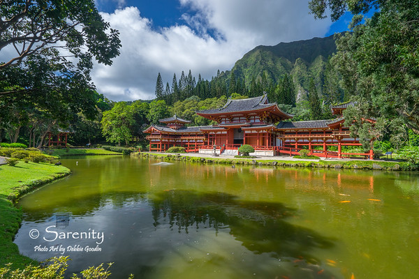 Byodo-In Temple - Valley of the Temples