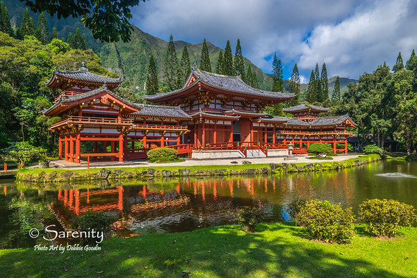 Byodo-In Temple - Valley of the Temples Memorial Park  Kaneohe, Oahu, HI