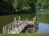 This dock by the boat ramp, restaurant and bait shop awaits park visitors on a tranquil Spring day!
