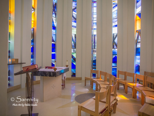 Inside the Day Chapel!