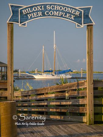 Boat at the Biloxi Shooner Pier Complex!