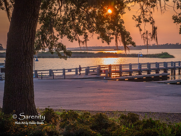 A beautiful sunset overlooking the docks at the Marina!