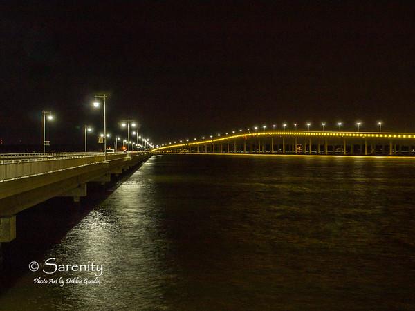 Drive up Pier, Hwy 90 bridge