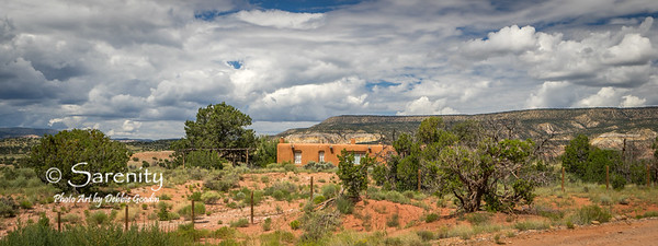 Georgia O'Keefe's home at Ghost Ranch