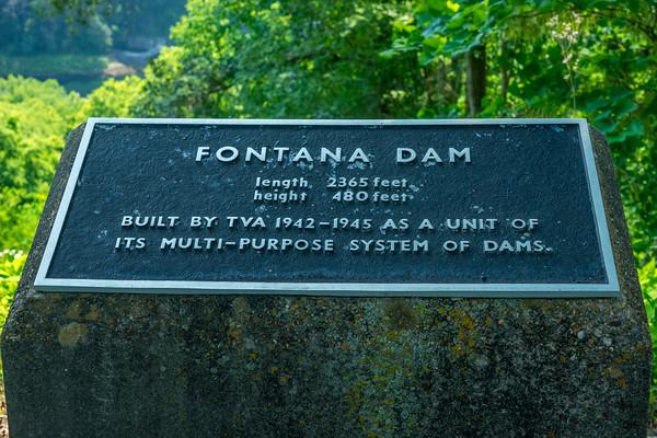 Fontana Dam, Smoky Mountains