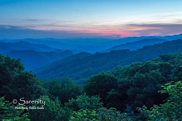 Sunset - Thunderstruck Overlook