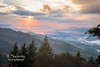 Blue Ridge Parkway Sunset, Waterrock Knob Overlook, North Carolina