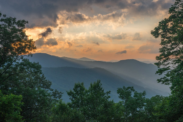 Overlook - Great Smoky Mountain National Park