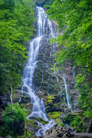 Mingo Falls, Cherokee Indian Reservation, Cherokee, NC