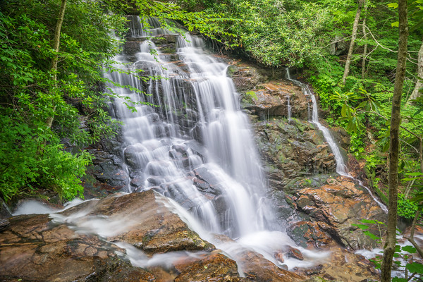 Soco Falls, Cherokee Nation, Qualla, NC