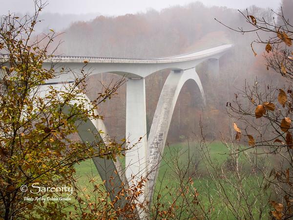 Double Arch Bridge, Birdsong Hollow, Natchez Trace Trail, TN
