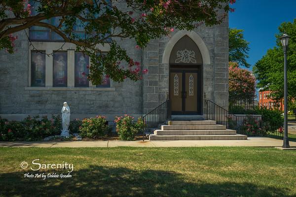 Saint Mary Star of the Sea Catholic Church - Entrance