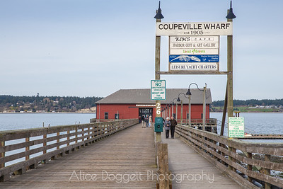 The Wharf at Coupeville, Whidbey Island