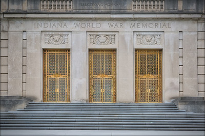 Indiana War Memorial (2):  Indianapolis, IN