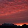 Sunset Over Mammoth