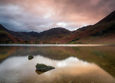 Buttermere shortly after sunrise