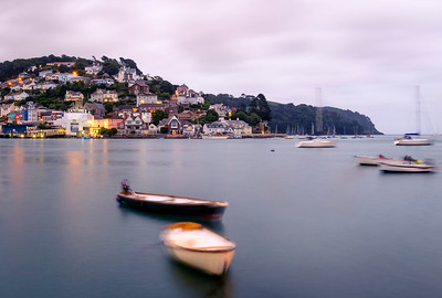 Kingswear, Devon, seen from Dartmouth