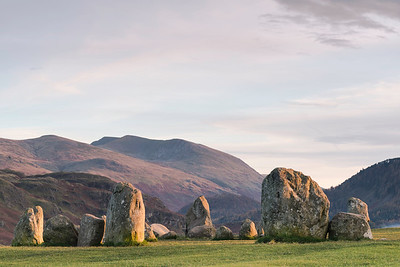 Castlerigg Stone Circle, Cumbria, late afternoon