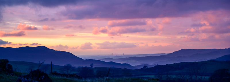 The nuclear complex at Sellafield seen from Birkerthwaite