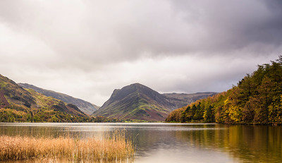 Buttermere, Cumbria, looking towards Fleetwith Pike