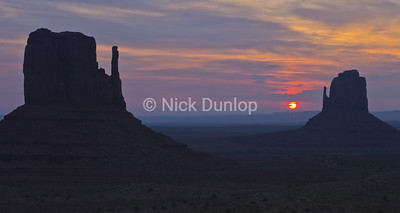 Monument Valley at First Light