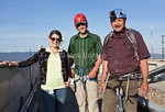 Michelle from the mayor's office, Nicky, Glenn's climbing partner, and Glenn