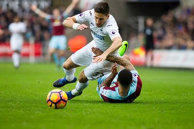 Swansea City v Burnley - Premier League - March 4th 2017