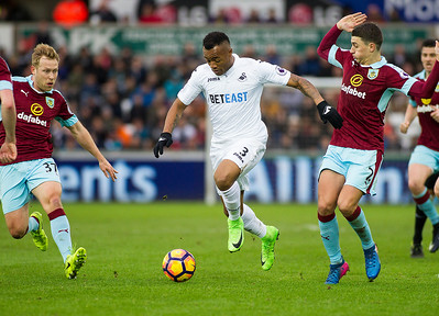 Swansea City v Burnley - Premier League - March 4th 2017