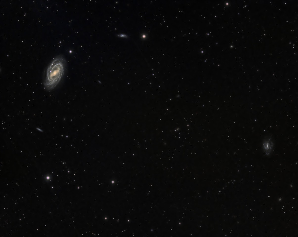 Messier 109 and UGC6983