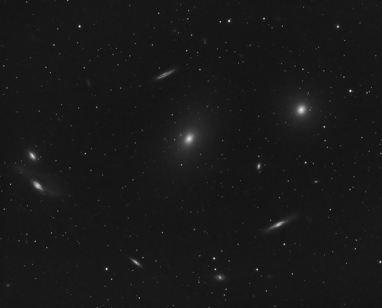 Messier 86 and the Virgo Cluster