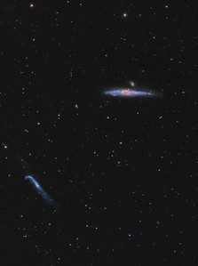 The Whale & Hockey Stick Galaxies