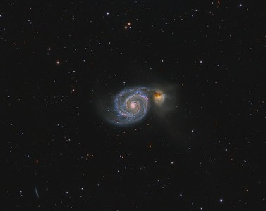 Messier 51 The Whirpool Galaxy