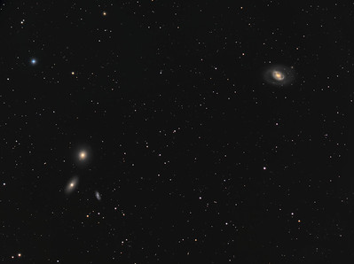 Messier 96 and 105