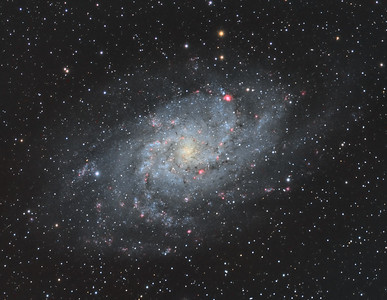 Messier 33 The Triangulum Galaxy