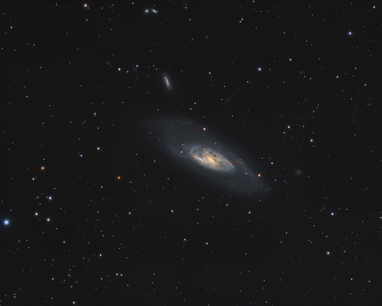 Messier 106 and NGC4217