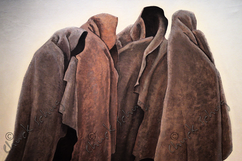 CLOAKED HOODED FIGURES