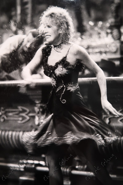 """MARLENE DIETRICH IN A SCENE FROM THE FILM """"DESTRY RIDES AGAIN"""", 1939 - IMAGE DISPLAYED IN THE """"DRESSED FOR THE IMAGE"""" EXHIBIT AT THE NATIONAL PORTRAIT GALLERY"""
