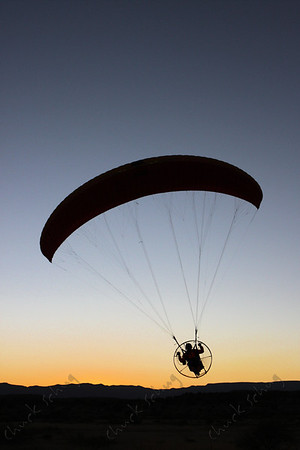 SUNSET PARAGLIDER
