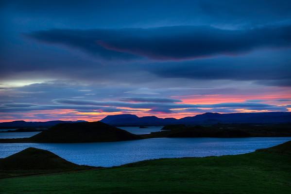 Lake Myvatn Sunrise