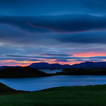 Lake Myvatn Sunrise