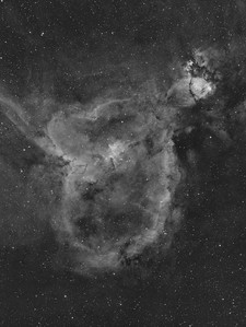 IC1805 The Heart Nebula