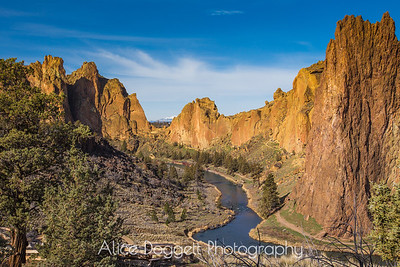 Smith Rock State Park, Central Oregon