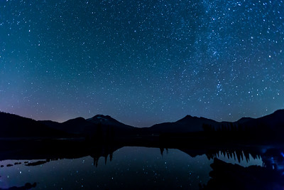 Starry Night At Sparks Lake