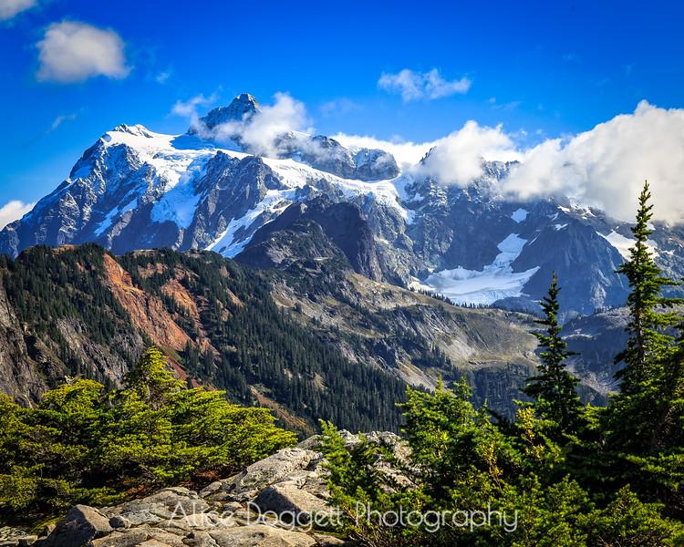 Mount Shuksan, Mt. Baker-Snoqualmie National Forest, WA