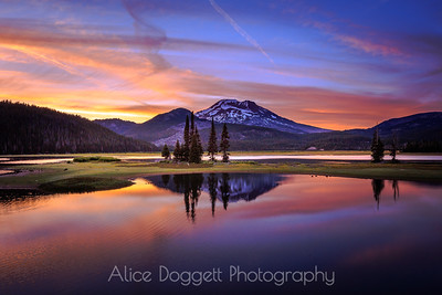 Magic Night at Sparks Lake