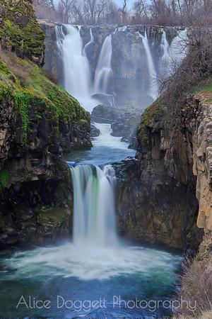 White River and Celestial Falls, North Central Oregon